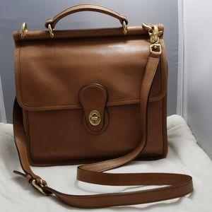 Coach Vintage leather crossbody bag